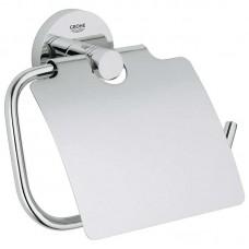 Essentials 40367001 держатель туалетной бумаги Grohe с крышкой