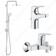 BauFlow 55050000 Tempesta комплект Grohe для ванной