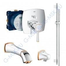 Grandera 220 55029IG0 смеситель Grohe для ванны с душем