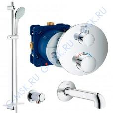 Grohtherm 110 Euphoria 55036000 термостат для ванны Grohe с душем
