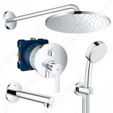 Lineare 310 55097000 душевая система для ванной Grohe