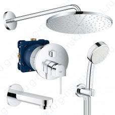 Plus 310 55099000 душевая система для ванной Grohe