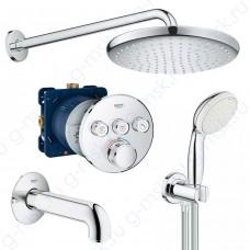 SmartControl 260 55105000 душевая система для ванной