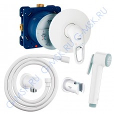 Eurostyle 55051LS0 белый гигиенический душ Grohe комплект