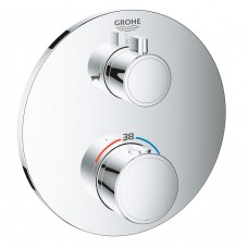 Grohtherm 24077000 термостат для ванны Grohe на 2 выхода