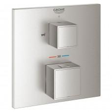 Grohtherm Cube 24155DC0 встраиваемый термостат для ванны Grohe на 2 выхода
